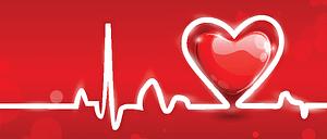 diagram of a heart