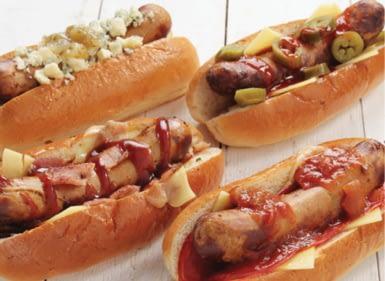 fancy hot dogs